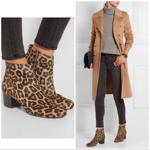 Sam Edelman Edith Leopard Calf Hair Ankle Booties